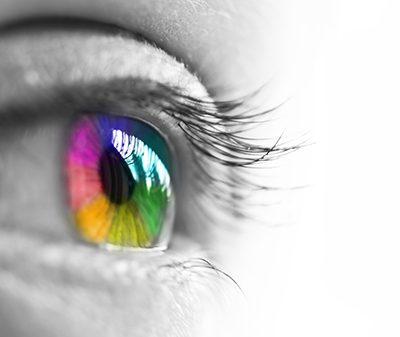 eye-catching visuals